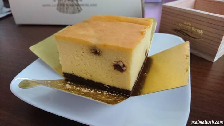 「灘五郷」銘酒の酒粕ベイクドチーズケーキ
