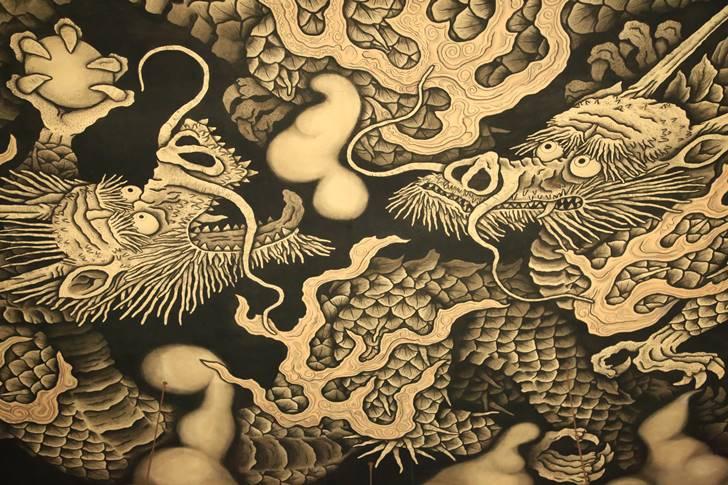 御朱印帳に拘るなら建仁寺がオススメ!雲竜デザインが綺麗です