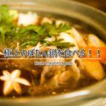丹波篠山で極上ぼたん鍋!猪料理専門店「奥栄」は年中食べれます